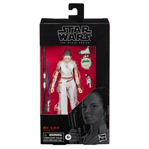 Star Wars ~ The Black Series ~ Rey with D-O 6-Inch Action Figure