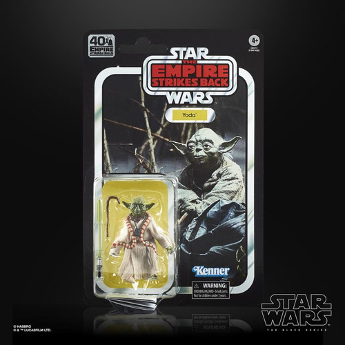 "Star Wars The Empire Strikes Back 40th Anniversary ~ Yoda  6"" Scale Action Figure"
