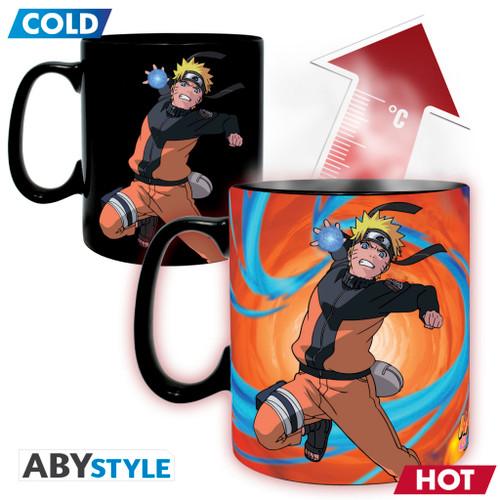 Naruto ~ Naruto & Sasuke Mug & Coaster Gift Set