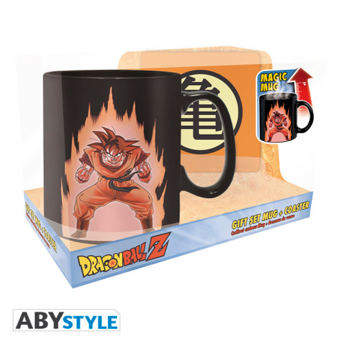 Dragon Ball Z ~ Goku Magic Mug & Coaster Gift Set