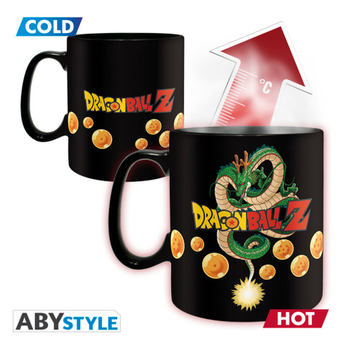Dragon Ball Z ~ Vegeta Magic Mug & Coaster Gift Set