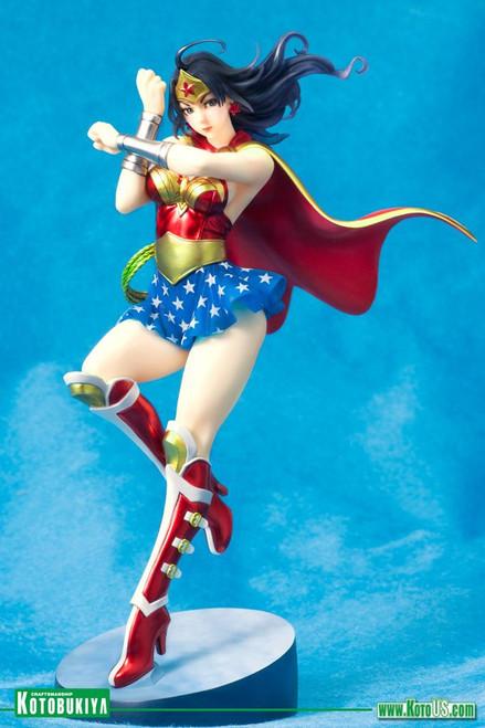 DC Comics - Armored Wonder Woman Bishoujo Statue 2nd Edition