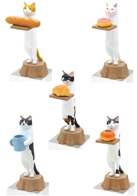 Blind Box ~ Cat Bakery  ~ 1 of 5 Random Figurine