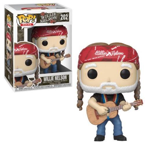 POP! Rocks ~ Willie Nelson #202