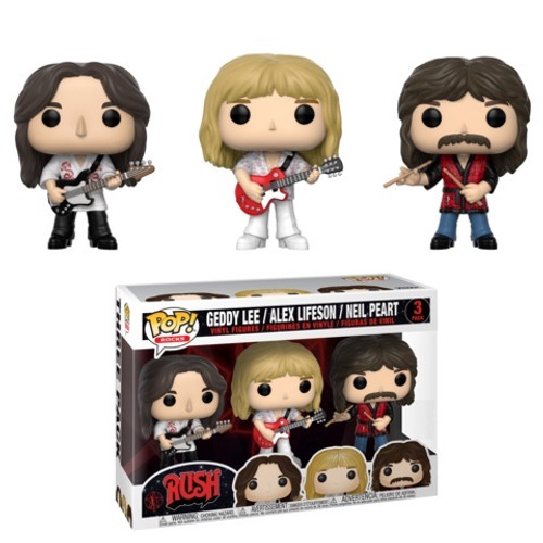POP! Rocks ~ Rush ~ 3 Pack