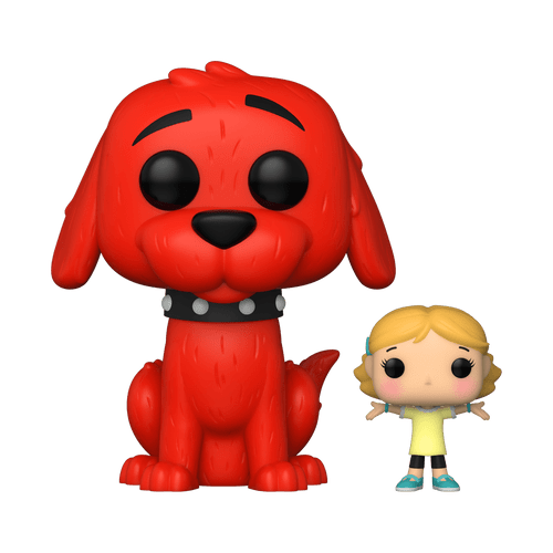 POP! Books ~ Clifford The Big Red Dog ~ Clifford with Emily #27