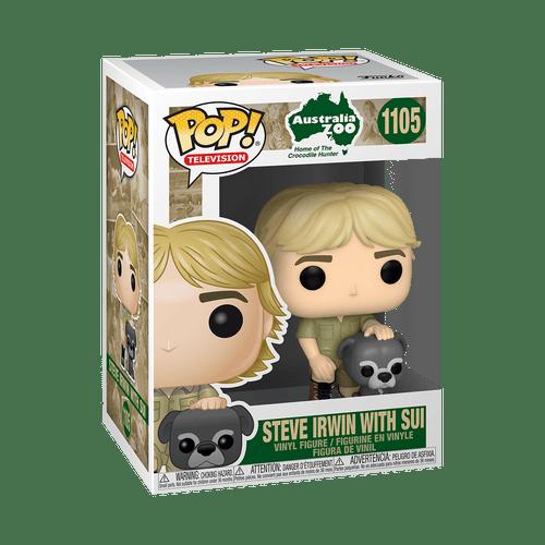 POP! Television ~ Crocodile Hunter ~ Steve Irwin with Sui #1105