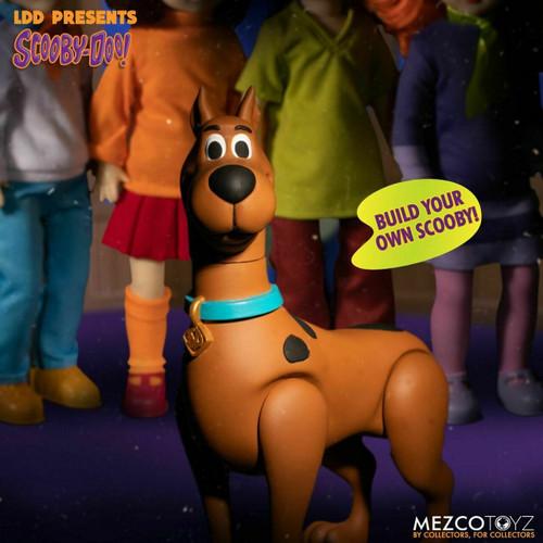 Living Dead Dolls Presents ~ Scooby-Doo & Mystery Inc ~ set