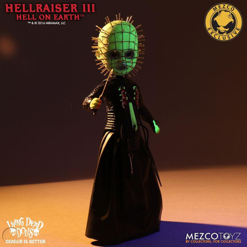 Living Dead Dolls ~ Hellraiser III ~ Pinhead GITD Variant