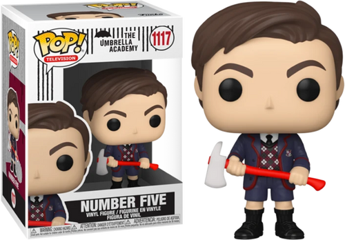 POP! Television ~ The Umbrella Academy ~ Number Five #1117