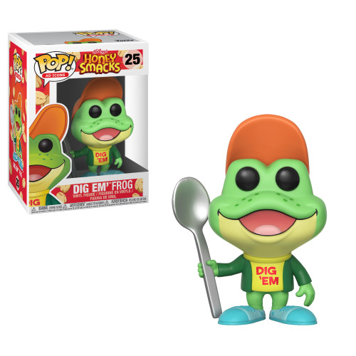 POP! Ad Icons ~ Honey Smacks ~ Dig Em' Frog #25