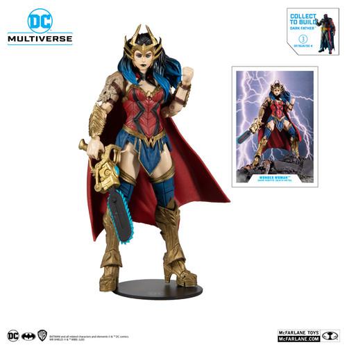 DC Multiverse ~ Dark Nights: Death Metal ~ Wonder Woman (Darkfather Build a Figure)