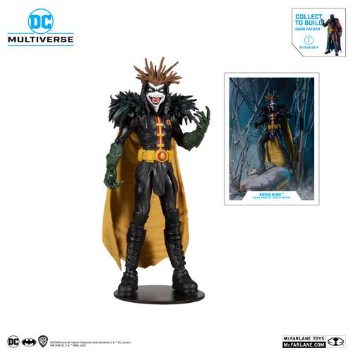 DC Multiverse ~ Dark Nights: Death Metal ~ Robin King (Darkfather Build a Figure)