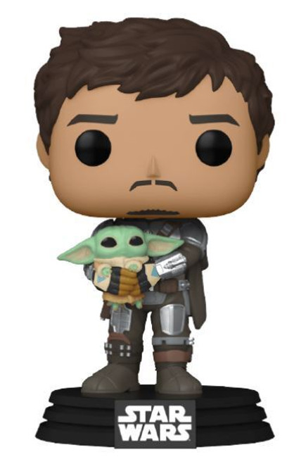 POP! Star Wars ~ The Mandalorian with Grogu #461