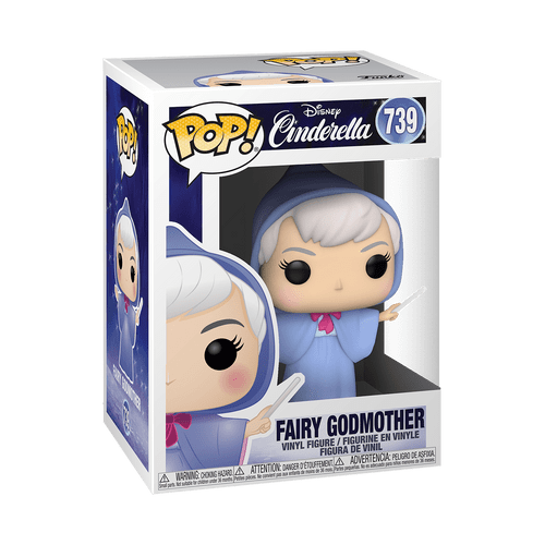 POP! Disney - Cinderella - Fairy Godmother #739