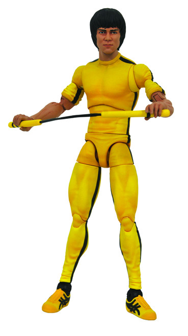 Diamond Select ~ Bruce Lee  in Yellow Jumpsuit Action Figure