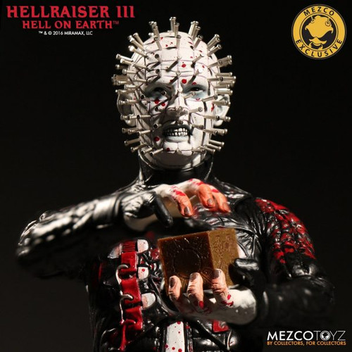 Mezco ~ Hellraiser III Hell On Earth ~ Bloody Pinhead Mezco Shop Exclusive