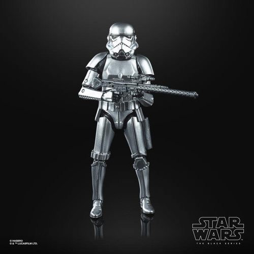Star Wars ~ The Black Series ~ Carbonized Stormtrooper 6-Inch Action Figure