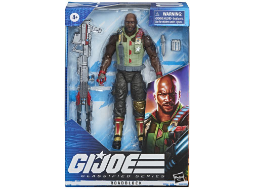 G.I. Joe ~ Classified Series  ~ 6-Inch Roadblock Action Figure