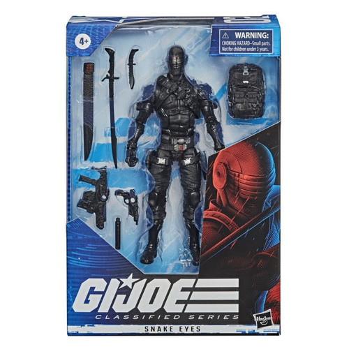 G.I. Joe ~ Classified Series  ~ 6-Inch Snake Eyes Action Figure
