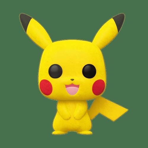 POP! Games - Pokemon - Pikachu (Flocked) #353
