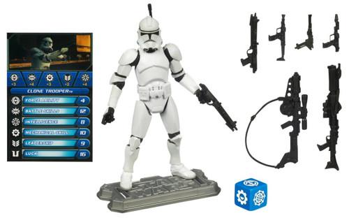 "Star Wars ~ Saga Legends ~ Clone Trooper (ROTS) 3 3/4"" Action Figure  SL-16"