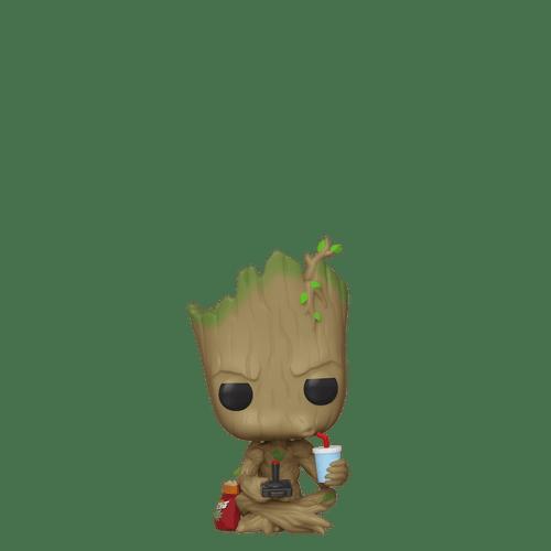POP! Marvel - Groot (Gamer) #539
