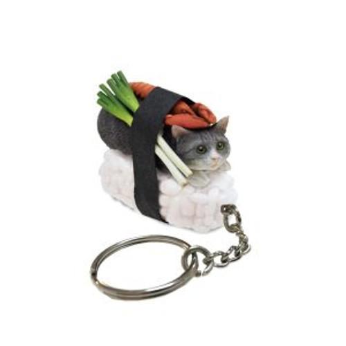 Blind Box ~ Sushi Cat (Nekozushi) Keyring  Version 1 ~ Includes 1 of 5  Figurines
