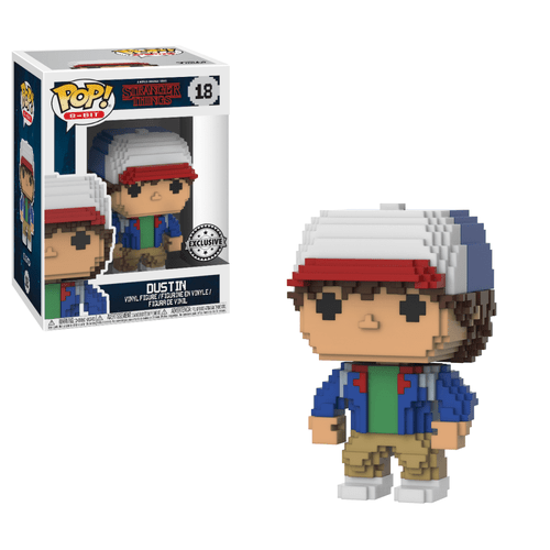 POP! 8-Bit ~ Stranger Things ~ Dustin #18