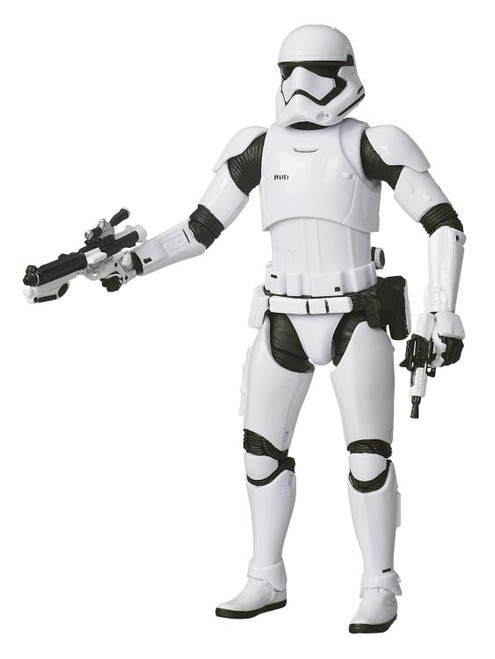 Star Wars ~ The Black Series ~ First Order Stormtrooper 6-Inch Action Figure #04