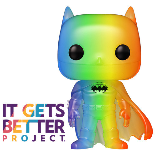POP! Heroes ~ Pride 2020 ~ Rainbow Batman