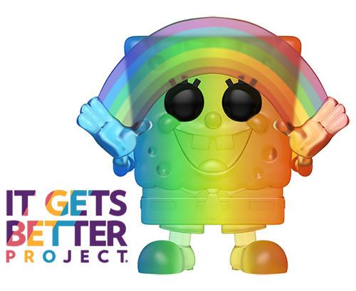 POP! Animation ~ Pride 2020 ~ Rainbow SpongeBob SquarePants