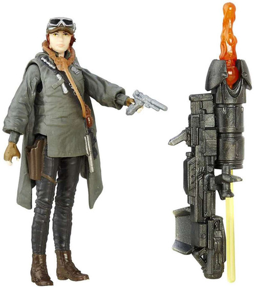 "Star Wars ~ Rogue One ~ Sergeant Jyn Erso (Eadu) 3 3/4"" Action Figure"