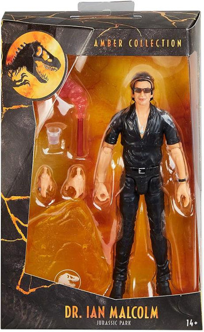 Jurassic World ~ Dr. Ian Malcolm Amber Collection Action Figure