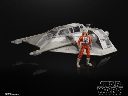 Star Wars ~ The Black Series ~ The Empire Strikes Back 40th Anniversary 6-Inch Scale Snowspeeder Deluxe Vehicle