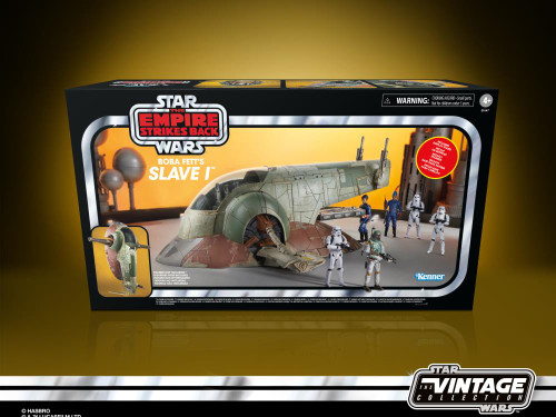 Star Wars ~ The Vintage Collection ~ Boba Fett's Slave I  3 3/4-Inch Scale Vehicle