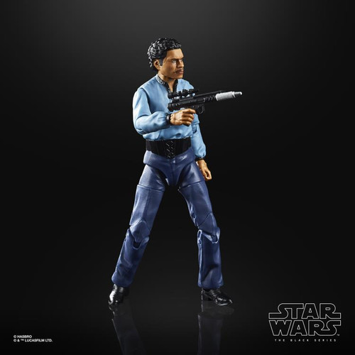 Star Wars ~ The Black Series ~ Empire Strikes Back 40th Anniversary ~  Lando Calrissian 6-Inch Action Figure