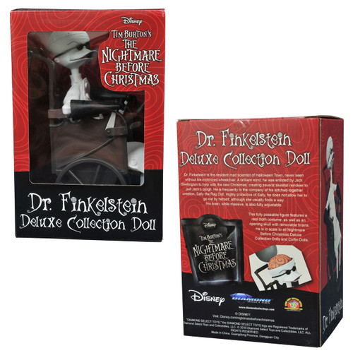 Nightmare Before Christmas ~ Dr. Finkelstein Deluxe Cloth Doll