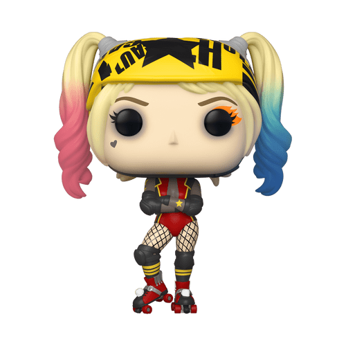 POP! Heroes - Birds Of Prey - Harley Quinn Roller Derby #307