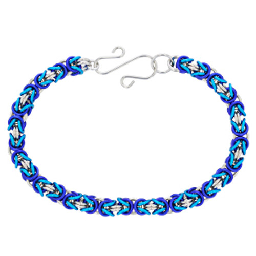 Unicorn Bracelet Chainmaille Bracelet Byzantine Bracelet Unicorn Chainmaille