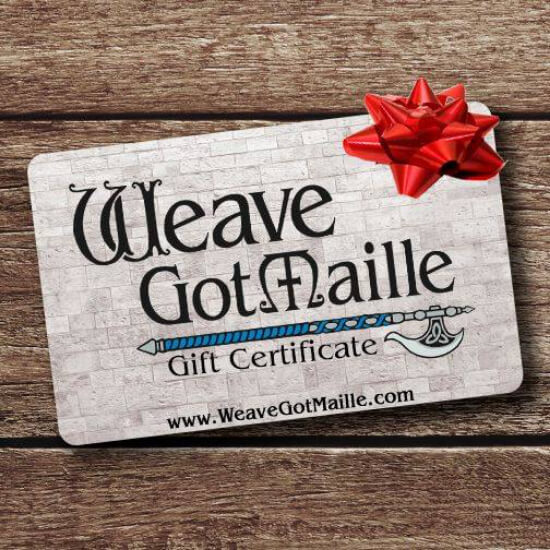 Weave Got Maille gift card
