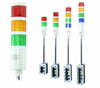 ASTL LED Tower Lights | Assembled Andon stack light with your choice of Red, Amber, Green, Blue, and Clear light sections | Light Sections 2-5.