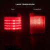 LED Andon Tower Light with 6'  or 10' Extended Cable | 3 Stack Light: Red Amber Green | 110V