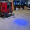 Fork Truck Blue Dot Safety Indicator