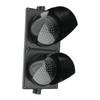 TL8 - 8in 2 Light Section LED Traffic Light | Red, Green | 12VDC, 24VDC, or 110-220 VAC Models | Off