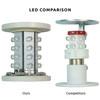 LED Comparison - Unlit