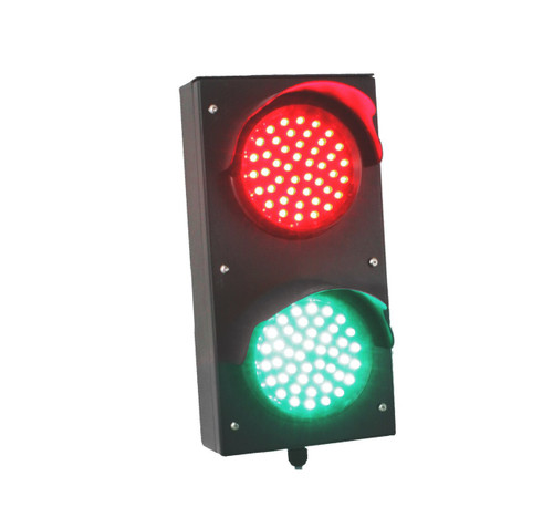"TL4 - 2 Light Section 4"" Traffic Light/Dock Light - Profile Green"