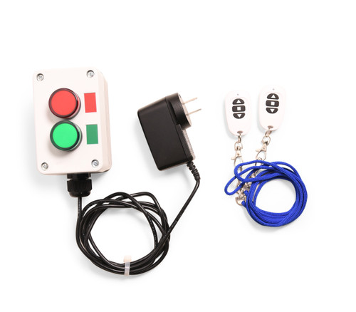 Red & Green 1 Inch LED Stop Light w/ Switch for Social Distancing - Restaurant Carryout or Retail - Traffic Light Style