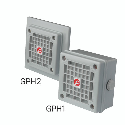 The GPH1 and GPH2 Audible Alarm at 105dB UL