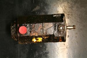 Motor in disrepair